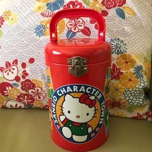 Sanrio storage tin
